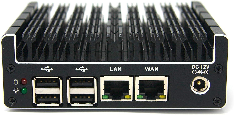 Protectli Vault 2 Port, Firewall Micro Appliance/Mini PC - Intel Dual Core, AES-NI, Barebone