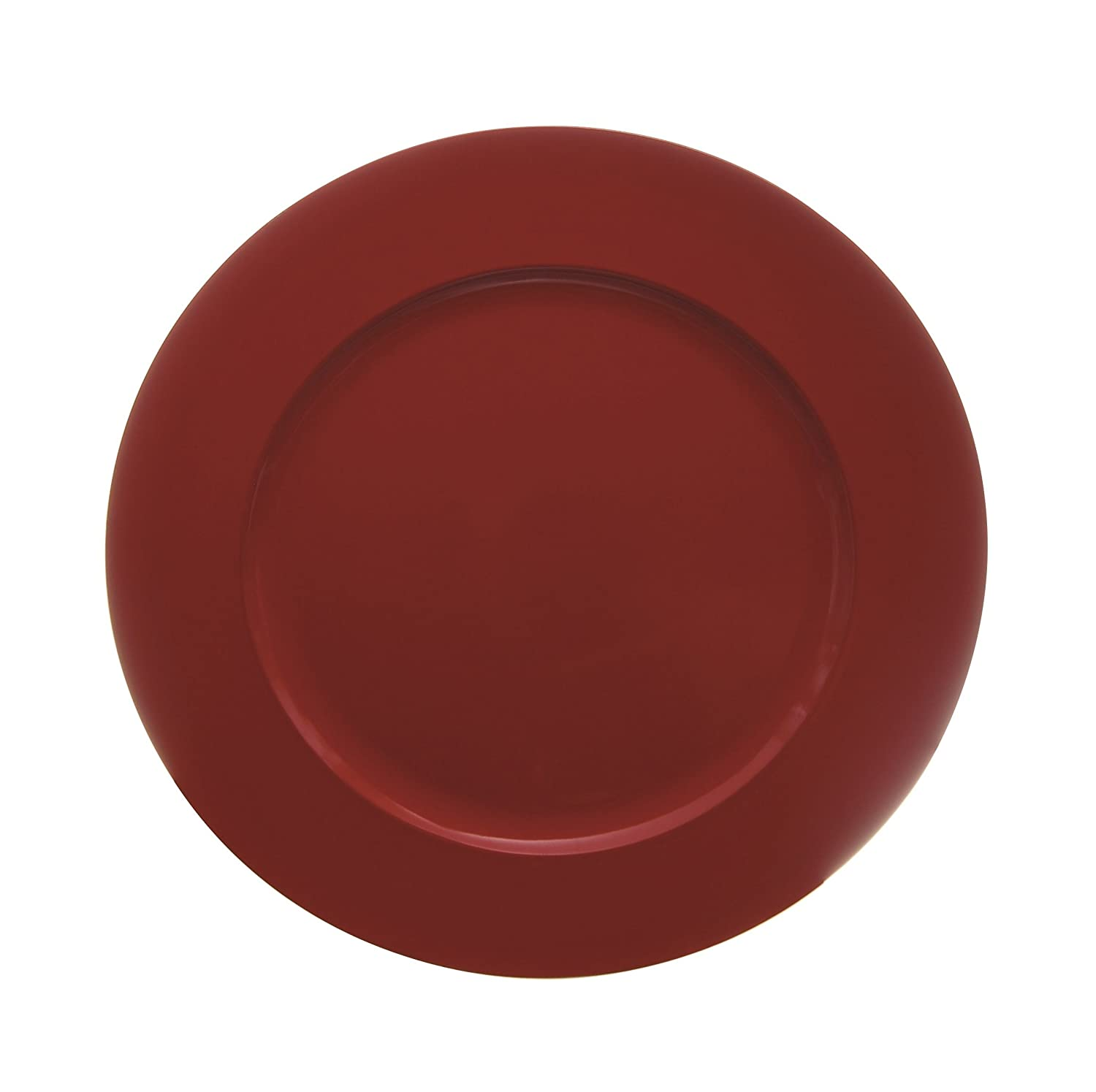 Excèlsa Round Red Charger Plate 33 Cm. Excelsa 32296