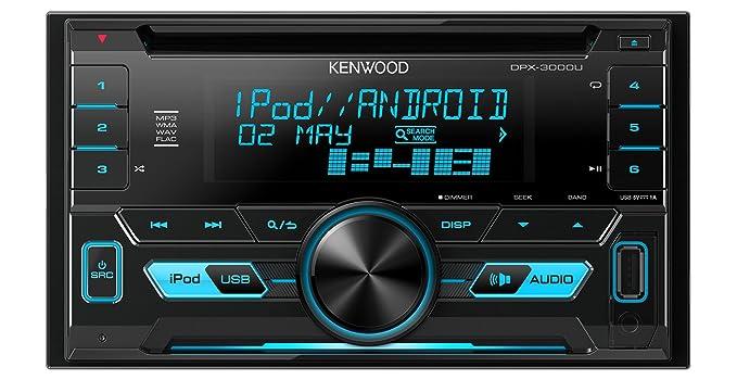 Kenwood dpx3000u doppel din receiver mit apple: amazon.de: elektronik