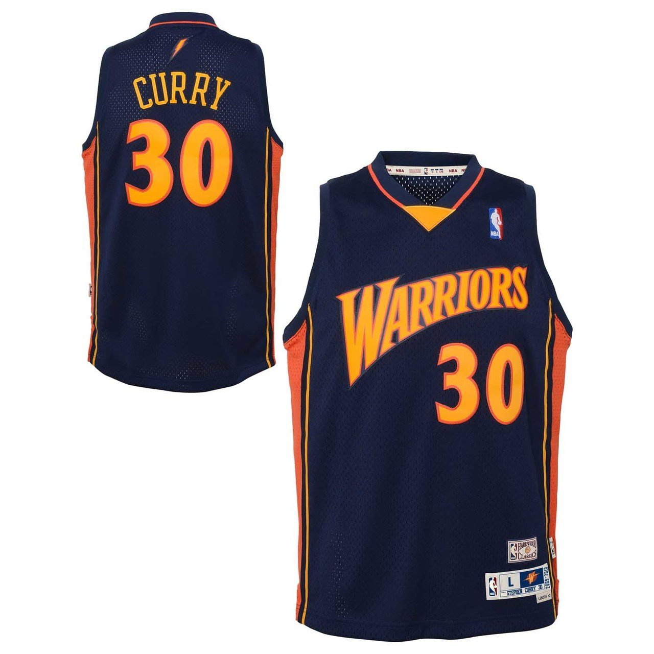 45229c5050bb Amazon.com   Outerstuff Stephen Curry Golden State Warriors NBA Youth  Throwback 2009-10 Swingman Jersey   Sports   Outdoors
