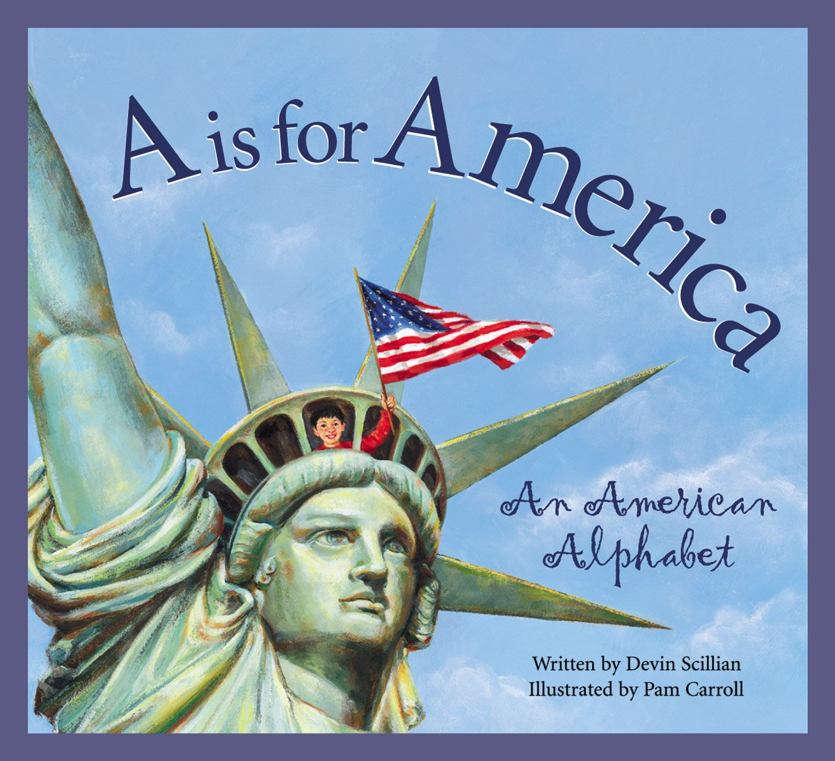 A Is for America (Alphabet Books)