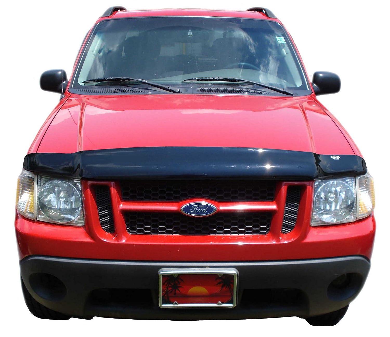 Amazon Com Auto Ventshade  Bugflector Ii Dark Smoke Hood Shield For   Ford Explorer Explorer Sport Trac Automotive