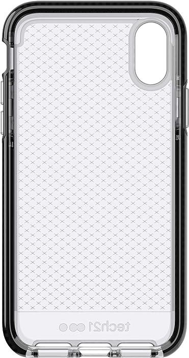 tech21 - Evo Check Case for Apple iPhone Xs - Smokey/Black