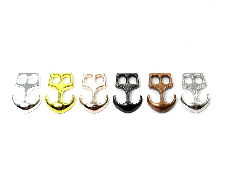 1//2//5//10//50x-Anker Verschluß-Metall-Kupfer-Legierung Zierverschluß-3 Größen