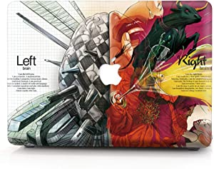 Hard Case for Apple (2015) MacBook Pro 15.4 Inch with Retina Display Model A1398 - L2W Laptop Computers Accessories Plastic Smooth Brain Design Print Protective Cover Shell,Draw