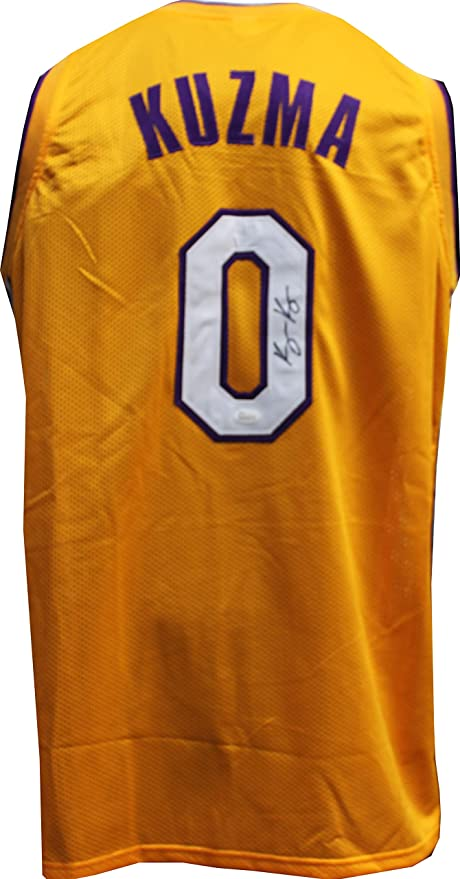 new product d0d44 a26ca Kyle Kuzma Autographed Signed Lakers