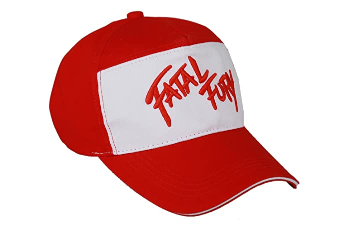 8e9929dca1448 Amazon.com  XCOSER Terry Bogard Baseball Caps Embroidered Hat Cosplay  Accessory  Clothing