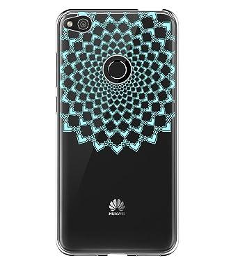 5c73bd1a Amazon.com: Huawei P8 Lite (2017) Case,Clear Design Slim Thin Transparent  Soft TPU Silicone Protective Crystal (Mandala-1, Huawei P8 Lite (2017)):  Clothing