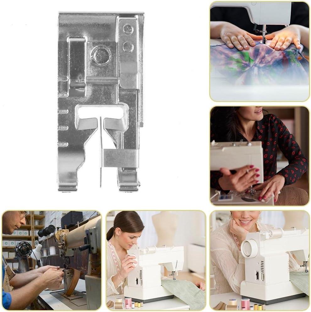 Prensatelas para máquina de coser doméstica, con guía de borde para todas las máquinas de coser Brother, Singer ...