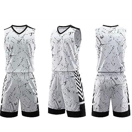 GJFENG Sportswear Uniformes De Baloncesto para Hombres Y Mujeres ...