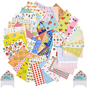 Lace Ace Select 80 Sheets Colorful Photo Border Stickers Instant Films Sticker for FujiFilm Instax Mini 9// 8// 7s// 70// 26// 50s// 90 Camera Film