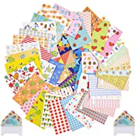 Set van 100 stuks schattige kleurrijke stickers Instax Mini Film kleurrijke stickers met verschillende designs stereo…