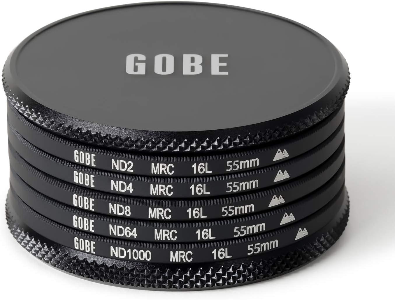 ND4 ND1000 Lens Filter Kit ND8 2Peak Gobe 43mm ND2 ND64