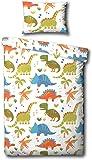 Samantha George Dinosaurs Multi Junior Duvet Cover Set