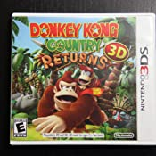 donkey kong country 3ds amazon