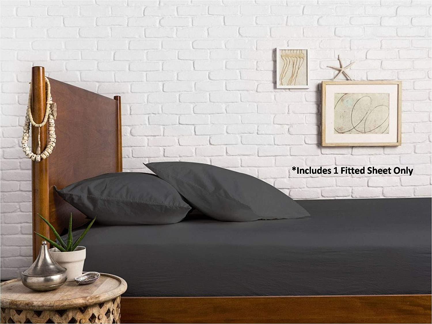Fits Mattress Upto 18 Deep Pockets White Comfy Sheets 100/% Egyptian Cotton Sateen Weave 1000 Thread Count California King Fitted Sheet with Elastic All Around