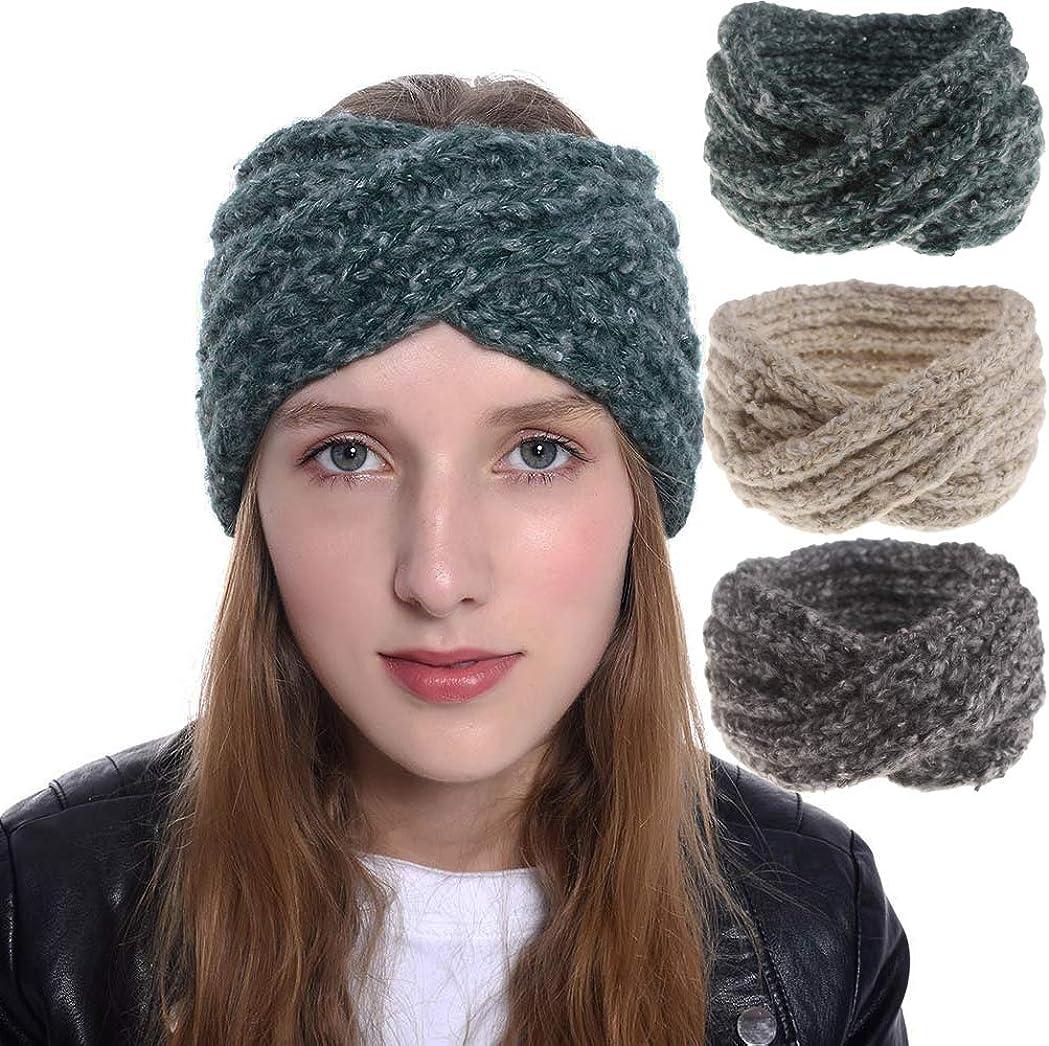 INOGIH 3 Pack Knit-Headband...