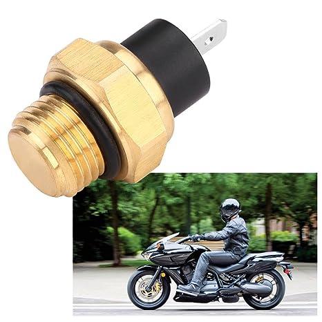 Radiator Fan Switch for Honda VFR700F VFR750F VFR800 VTR1000F VT600 VT750 VT1100 Fan Thermostat Temperature Switch 37760-MT2-003