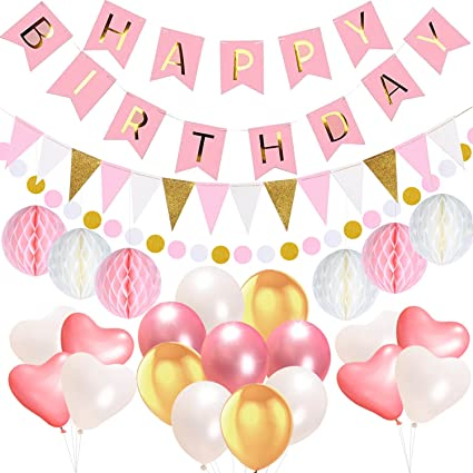 Amazoncom Birthday Decorations Party Supplies Acetek Happy