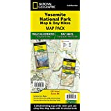 Yosemite National Park Map & Day Hikes [Map Pack Bundle] (National Geographic Trails Illustrated Map)