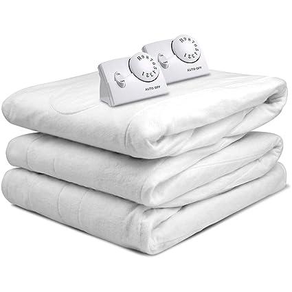 Amazon Com Heated Mattress Pad Best Comfort Hypoallergenic White