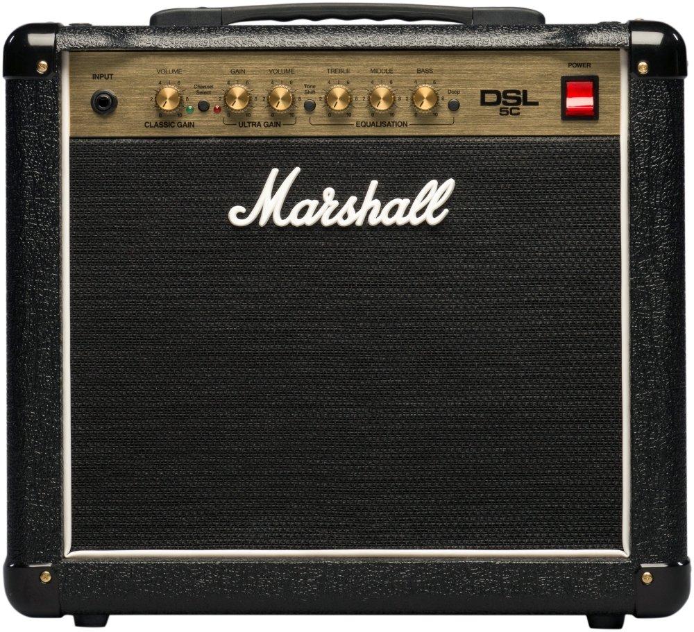 Marshall DSL5C 1x10'' 5-Watt 2-Channel Tube Combo Guitar Amp
