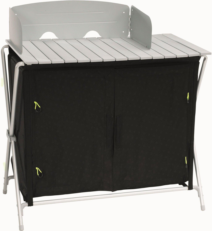 Outwell 530096 Schwarz, Weiß Aluminium Küche für Camping