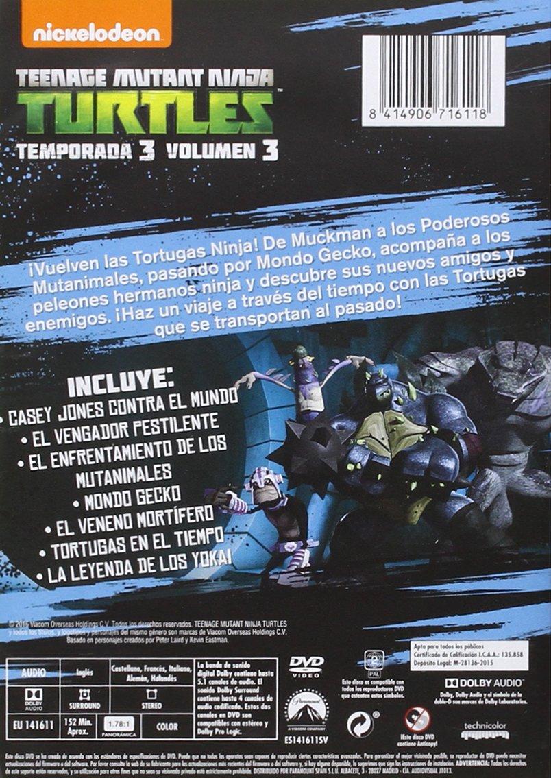 Tortugas Ninja: Reacciona [DVD]: Amazon.es: Personajes ...