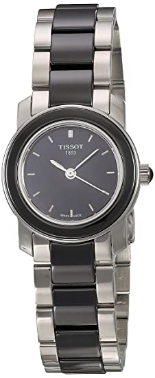 Tissot T0642102205100 - Reloj de mujer de cuarzo, correa de acero inoxidable color varios colores: Amazon.es: Relojes