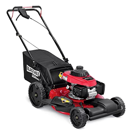 Exceptional Black Max 21u0026quot; 160cc Front Wheel Drive Mower Powered By Honda