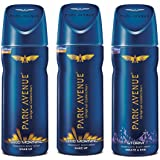 Park Avenue Men's Classic Deo Set (Good Morning, Cool Blue and Storm)