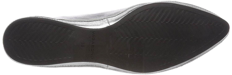 Vagabond Damen Antonia Geschlossene Ballerinas Silber (Silver) (Silver) Silber e81e00