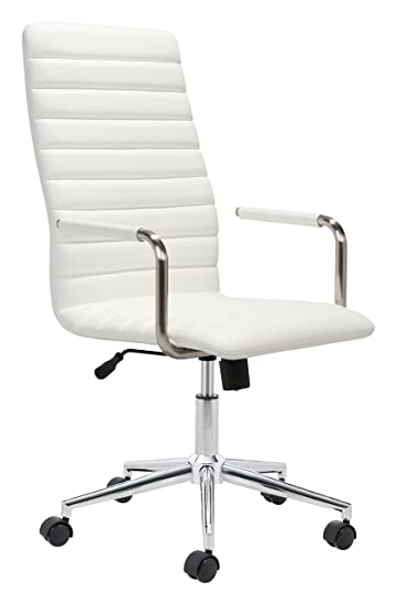 Zuo Modern 100773 Zuo Pivot Office Chair White  sc 1 st  Amazon.com & Amazon.com: Zuo Modern 100773 Zuo Pivot Office Chair White: Kitchen ...