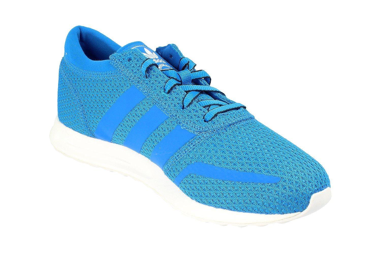 adidas Los Angeles Herren Sneaker , Grau, Einheitsgröße Blau (Blue/White Blue/White)