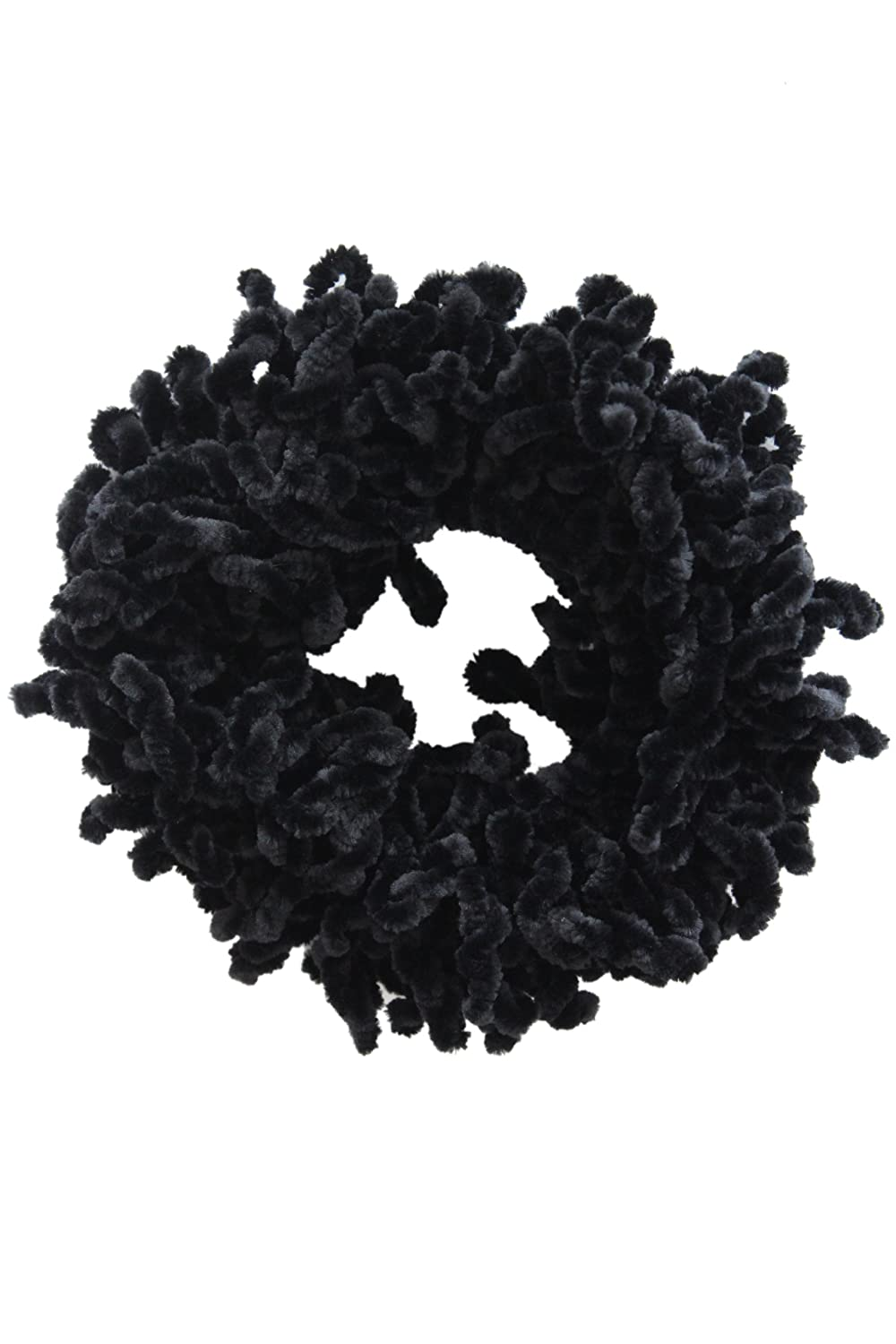 1pc Volumising Scrunchie Plain Big Hair Ring Tie Bun Clip Hijab Scarf Volumizer Khaleeji