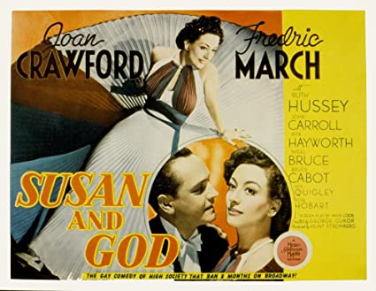 Image result for susan and god poster