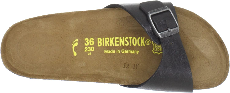 Birkenstock Madrid, Mules Femme Licorice Birkoflor