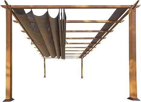 STC prn160 11 x 16 pies. Florencia aluminio Pergola