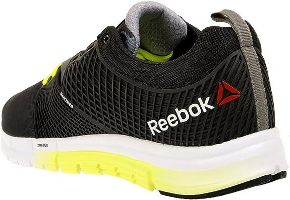 Reebok Zquick Dash City M47639 Laufschuhe Sportschuhe Trainers Fitness Schwarz