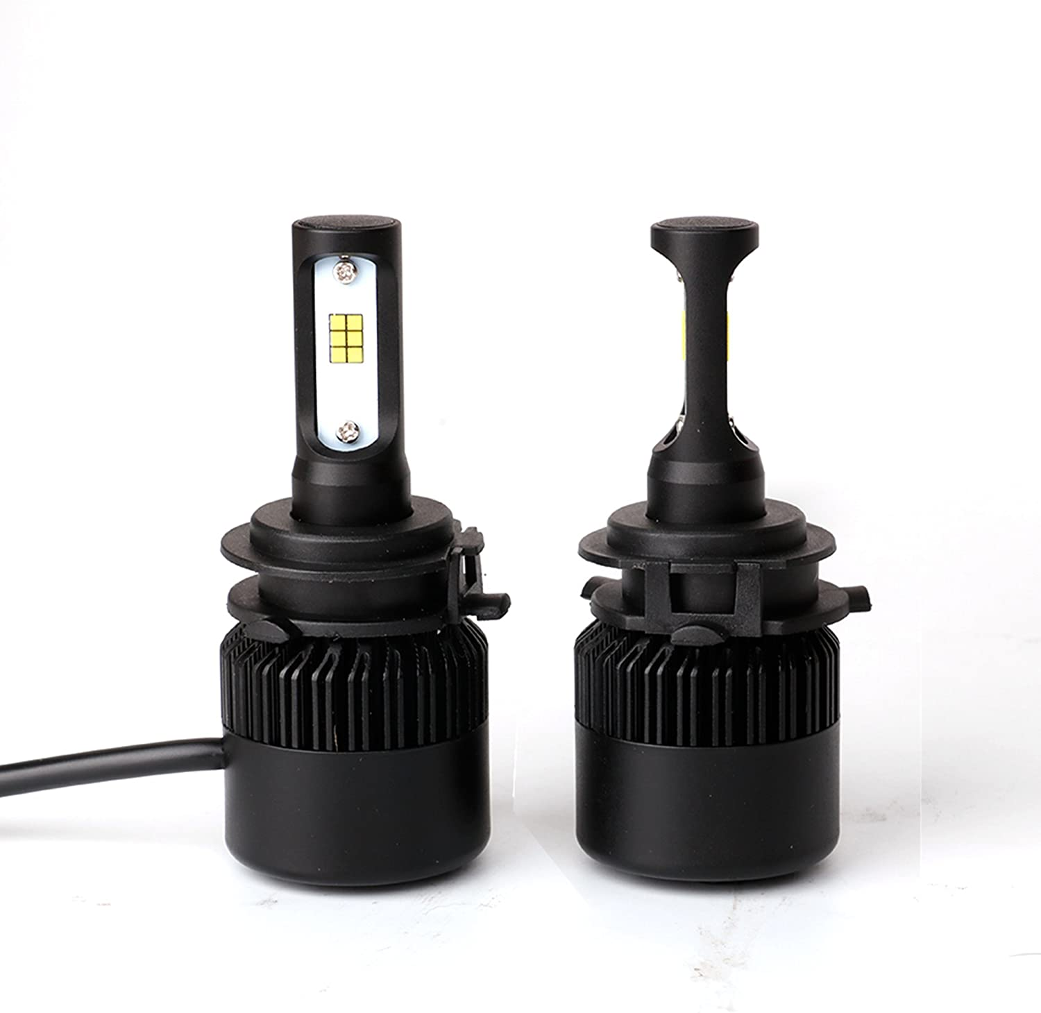 H1 LED Headlight Bulb Retainers for Conversion Kit Holder Adapter High Beam Compatible and Fits for Honda - PAIR Check Bulbs Locking Assembly Fits Various Honda Accord Civic CR-V Odyssey