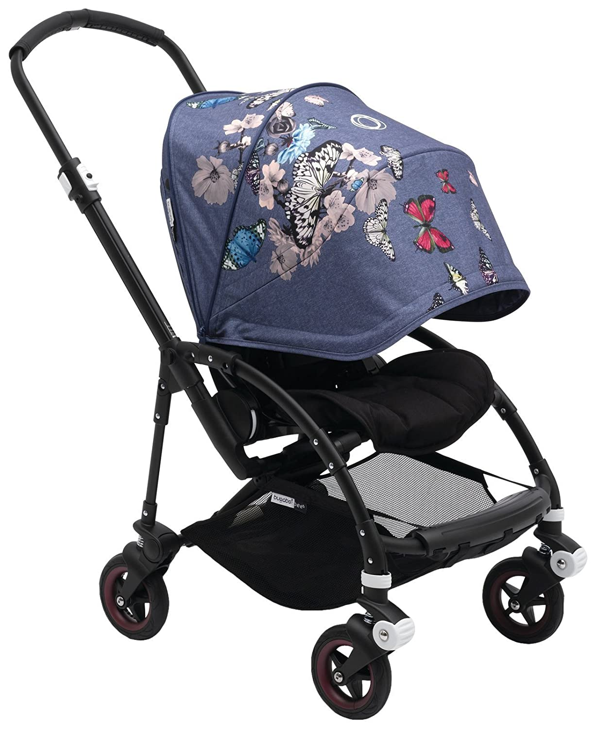 Birds Print Bugaboo Bee5 Sun Canopy Machine Washable Extendable Sun Shade for Full Weather Protection