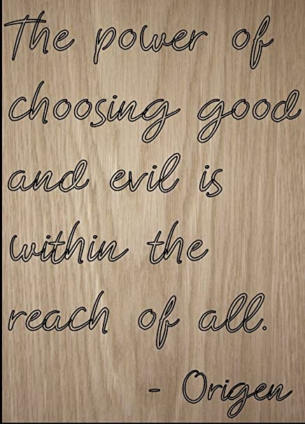 Amazoncom The Power Of Choosing Good And Evil Is Quote By