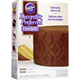 Wilton 710-2302 Decorator Preferred Fondant, 24-Ounce, Chocolate