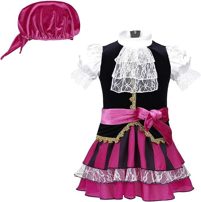 CHICTRY 3Pcs Disfraz de Pirata para Bebé Disfraz de Infantil con ...