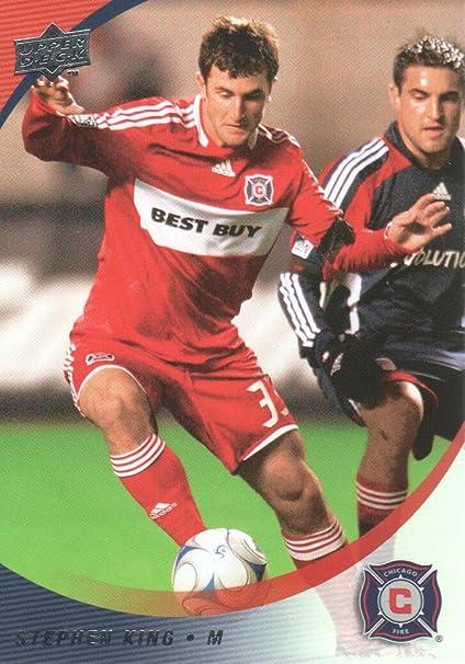 size 40 febd0 9d7ff 2008 Upper Deck MLS Soccer #107 Stephen King Chicago Fire at ...