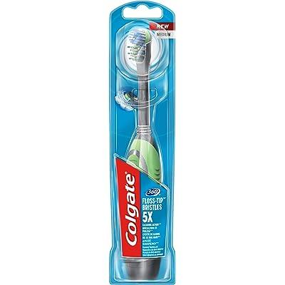 Colgate Actibrush - Cepillo de dientes eléctrico, colores aleatorios