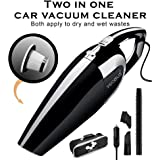 Shopizone High Power Multi-Function Car Vacuum Cleaner (Black)