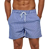 OPQNIAFH Under-Tale Bad Time Mens Quick Dry Swim Trunks Printed Bathing Suits Beach Shorts with Pockets