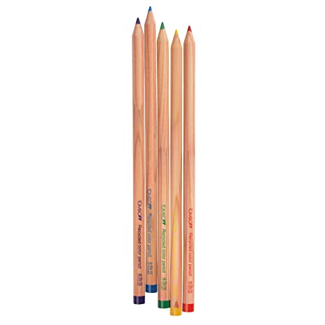 Recycled Colored Pencils (5-Pack) (Set of 5) Color: Primary