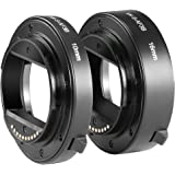 Neewer® ABS AF Auto-focus Macro Extension Tube Set 10mm&16mm for Sony NEX E-mount Camera NEX 3/3N/5/5N/5R/A6000/A6300 and Full Frame A7 A7S/A7SII A7R/A7RII A7II
